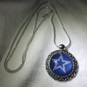 Dallas Cowboys NFL 925 Sterling Silver Necklace